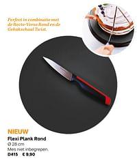 Flexi plank rond-Huismerk - Tupperware