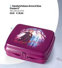 Sandwichdoos anna + elsa frozen ii-Huismerk - Tupperware