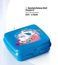 Sandwichdoos olaf frozen ii-Huismerk - Tupperware