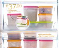 Set igloo dozen-Huismerk - Tupperware