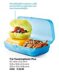 Trio tweelingdozen plus-Huismerk - Tupperware
