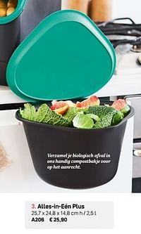 Alles-in-eén plus-Huismerk - Tupperware