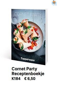 Cornet party receptenboekje