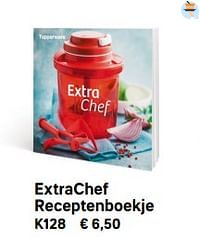 Extrachef receptenboekje-Huismerk - Tupperware