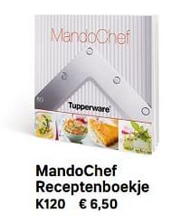 Mandochef receptenboekje-Huismerk - Tupperware