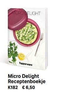 Micro delight receptenboekje-Huismerk - Tupperware