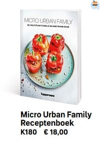 Micro urban family receptenboek-Huismerk - Tupperware