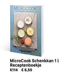 Microcook schenkkan 1 l receptenboekje-Huismerk - Tupperware