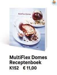 Multiflex domes receptenboek-Huismerk - Tupperware