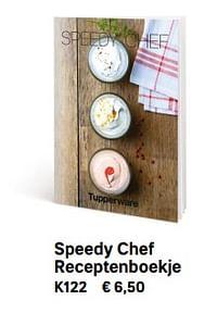 Speedy chef receptenboekje-Huismerk - Tupperware