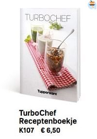 Turbochef receptenboekje-Huismerk - Tupperware
