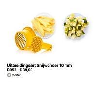 Uitbreidingsset snijwonder-Huismerk - Tupperware