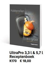 Ultrapro 3,3 l + 5,7 l receptenboek-Huismerk - Tupperware