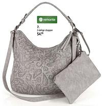 2-delige shopper-Remonte