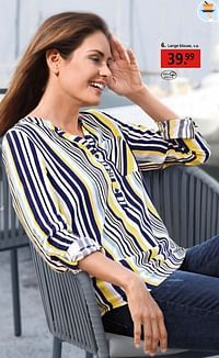 Lange blouse-Huismerk - Klingel
