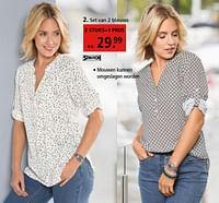 Set van 2 blouses-Huismerk - Klingel