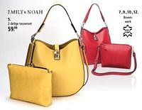 2-delige tassenset-Emily & Noah