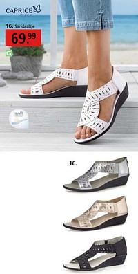Sandaaltje-Caprice