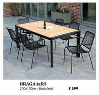 Braga tafel-Huismerk - Desomer-Plancke