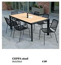 Coppa stoel-Huismerk - Desomer-Plancke