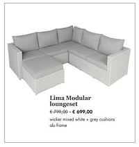 Lima modular loungeset-Huismerk - Desomer-Plancke