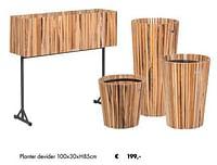 Planter devider-Huismerk - Desomer-Plancke