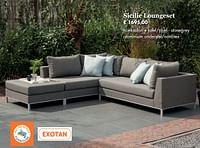 Sicilie loungeset-Exotan