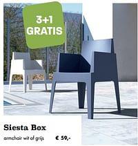 Siesta box-Huismerk - Desomer-Plancke
