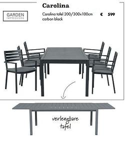 Carolina tafel