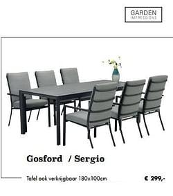 Gosford - sergio tafel