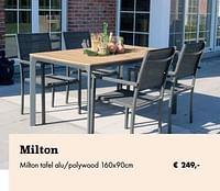 Milton tafel-Huismerk - Desomer-Plancke