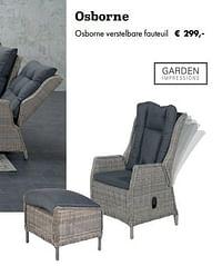 Osborne verstelbare fauteuil-Garden Impressions