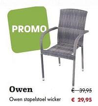 Owen stapelstoel wicker-Huismerk - Desomer-Plancke