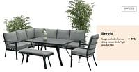 Sergio hoeksalon lounge-Garden Impressions