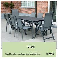 Vigo marseille verstelbare stoel-Huismerk - Desomer-Plancke