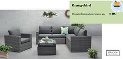 Orangebird middenelement organic grey