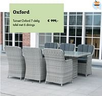 Tuinset oxford-Huismerk - Desomer-Plancke