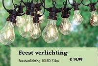 Feest verlichting feestverlichting 10led-Huismerk - Desomer-Plancke
