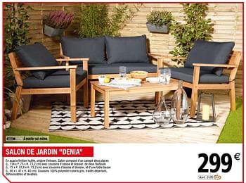 Promotion Brico Depot Salon De Jardin Denia Produit Maison Brico Depot Jardin Et Fleurs Valide Jusqua 4 Promobutler