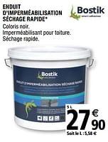 Promotion Brico Depot Enduit D Impermeabilisation Sechage Rapide Bostik Construction Renovation Valide Jusqua 4 Promobutler