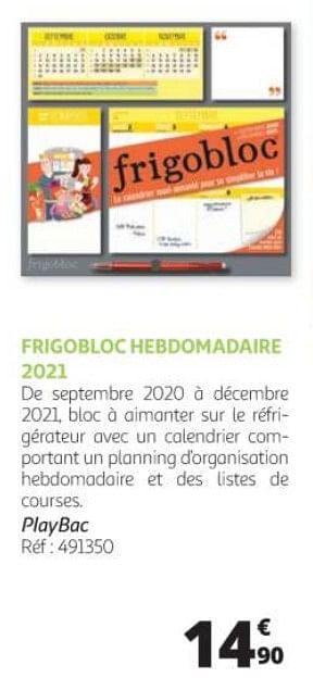 promotion Auchan Ronq: Frigobloc hebdomadaire 2021   Produit