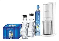 SodaStream Sodamaker Crystal Mega Pack white met 4 glazen-Sodastream