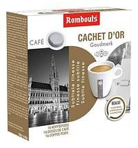 Rombouts Koffiepods Goudmerk - 10 dozen-Rombouts
