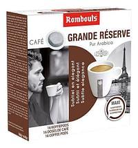 Rombouts Koffiepods Grande Réserve - 10 dozen-Rombouts