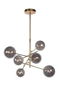 Lucide LED Hanglamp Alara G4 6 x 1,5 W goud glas-Huismerk - Makro