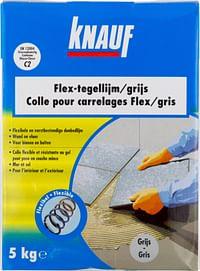 Knauf Flex tegellijm 5 kg grijs-Knauf