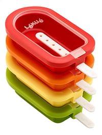 Lékué IJsjesvorm rood/geel/groen/oranje - 4 stuks-Lékué