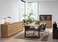 Eetkamer Aristo Eik-Huismerk - O & O Trendy Wonen