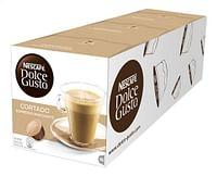 Nescafé Dolce Gusto capsules Cortado Espresso Macchiato 3 dozen-Nescafe