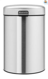 Brabantia Wandafvalemmer newIcon matt steel 3 l-Brabantia
